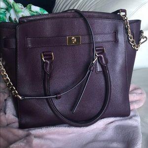 MK purse, super simple deep purple for fall!